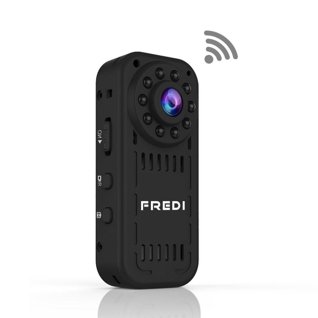 スマホで画像を確認出来るWIFI対応・赤外線照射で暗闇撮影OKの隠しカメラ