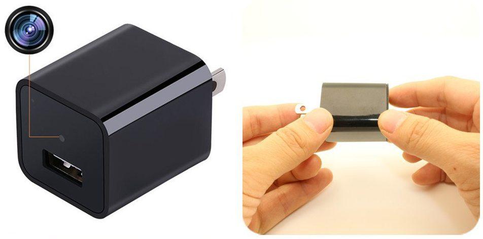 動作感知で自動撮影を開始できる超小型隠しカメラ