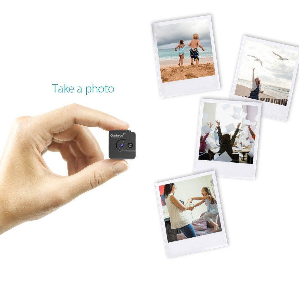 超小型隠しカメラ・ナイトビジョンのように赤外線照射で暗闇でも撮影できるカメラ